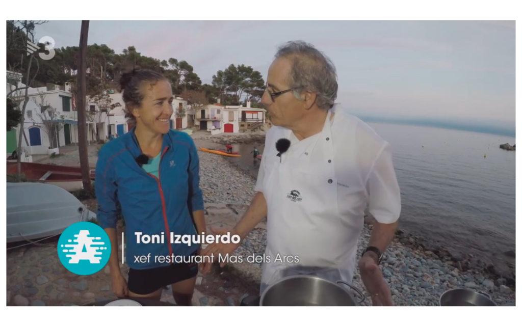 Toni Izquierdo al programa l'Empordanet de Aire lliure a TV3.